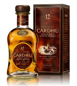 Cardhu scotch whisky