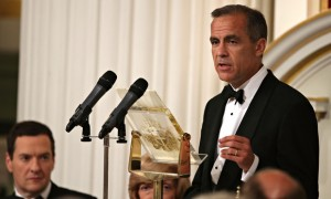 Governor of the Bank of England Mark Carney at his Mansion House speech