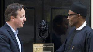 Buhari Cameron uk